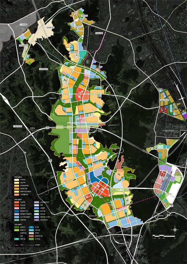광명시흥 보금자리지구 마스터플랜 및 지구단위계획, 2013년