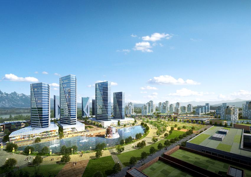 카자흐스탄 알마티 딸가르 기본계획, 2014년