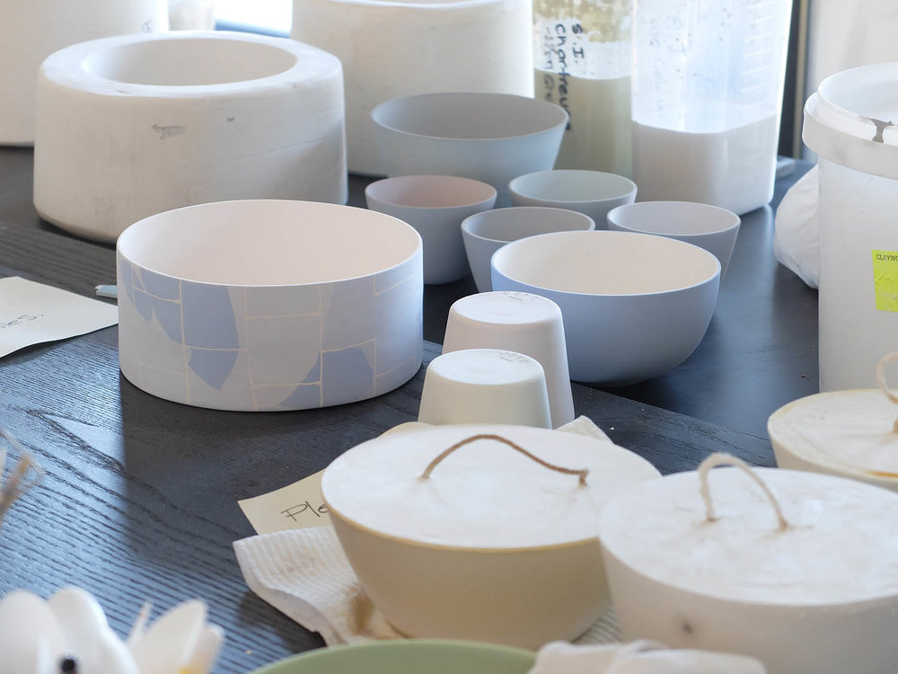 Tested by time - Every piece is hand sanded to create a silky smooth matte finish. They are high fired until vitrified which makes them waterproof and food safe.Our team has tested as many potential staining foods in the pots and nothing has stained apart from tea which seems to stain anything.  A selection of various coloured pieces has been tested in overseas laboratories to make sure there is nothing harmful in the ware and that it is safe for food use. We put a great deal of care and consideration into making our wares as versatile as possible. They are dishwasher safe and perform well with cutlery.