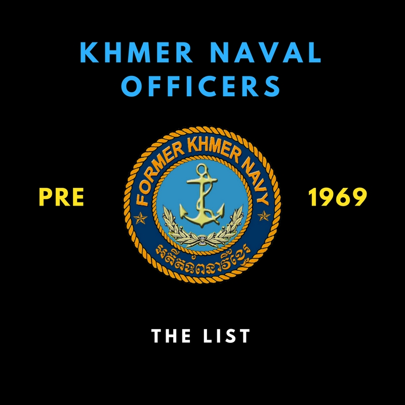 Officers List pre-1969