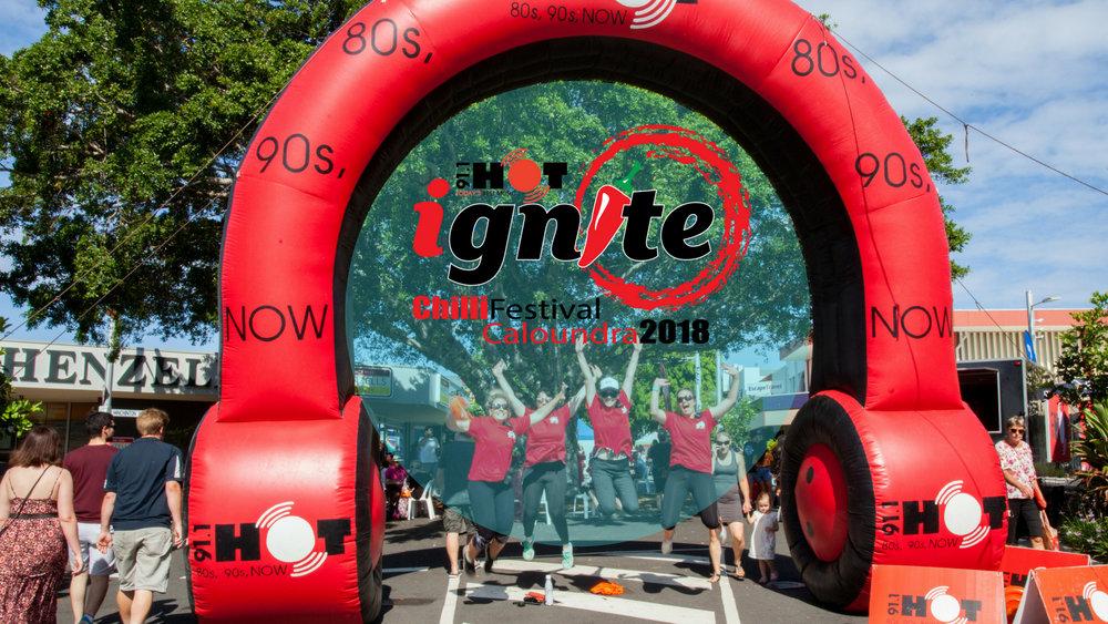 IGNITE CHILLI FESTIVAL - volunteers