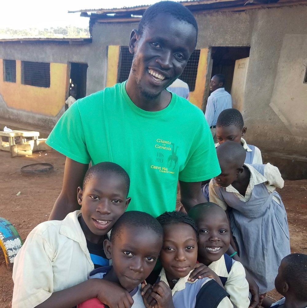 Stephen Okurut, Kitiibwa Ministries in Kampala Uganda