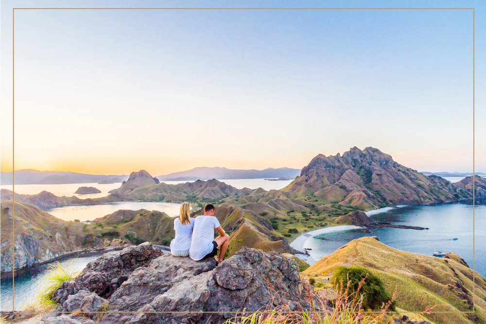TREKKING IN KOMODO - Trekking is definitely one of the best thing to do in Komodo Islands to contemplate the natural beauty from the top of the mountains to the bottom of the sea. These breathtaking views would make you feel like all your efforts trekking to the top of the world are all worth it.