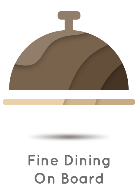 Fine Dining on Board