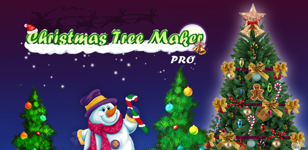 Christmas Tree Maker                        Decorate Christmas trees with bells, lights, toys, balls & presents! Design it!