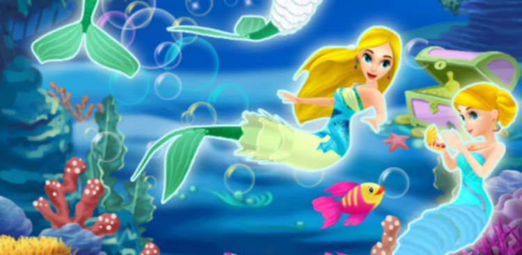 Mermaid Princess Dress Up 3D If you love dress up and fashion is your passion, then dive under the sea to create your own fashion fairy tale!