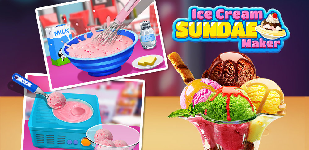 Sundae Maker! DIY & create your own frozen dessert for the party! Make the BEST sweet food!