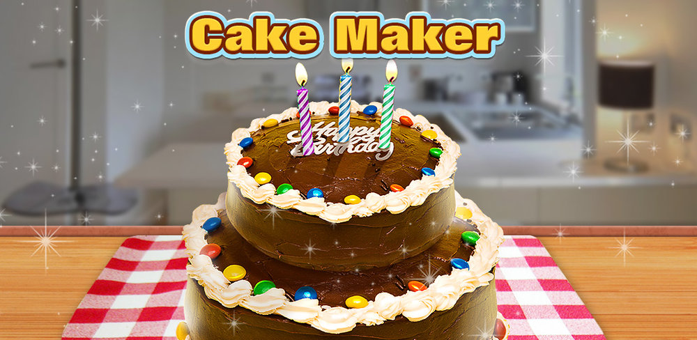 Cake Maker  Make & design your own candies in many shapes, colors & flavors! Have a taste!