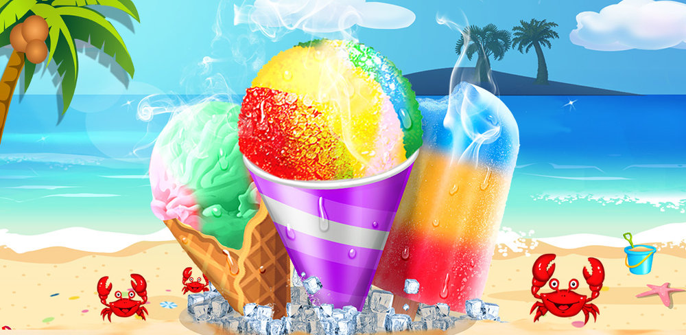 Food Maker! Beach Party  Be a MASTER CHEF for the big party! Make ice cream & DIY snow cone for everyone!
