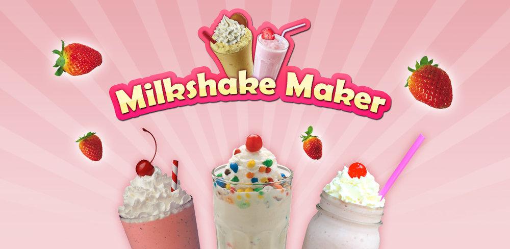 Milkshake Maker! Make Drinks  Ultimate MILKSHAKE MAKER! Ice Cream, Milkshake, Smoothie, Sundae & much more.