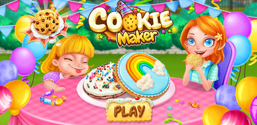 Cookie Maker - Sweet Desserts  2016 cookie recipe! Make and treat your friends with those sweet desserts!