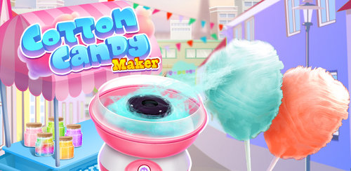 Sweet Cotton Candy Maker  Prepare for the cyclone of SWEETNESS! DIY delicious dessert with rainbow color.
