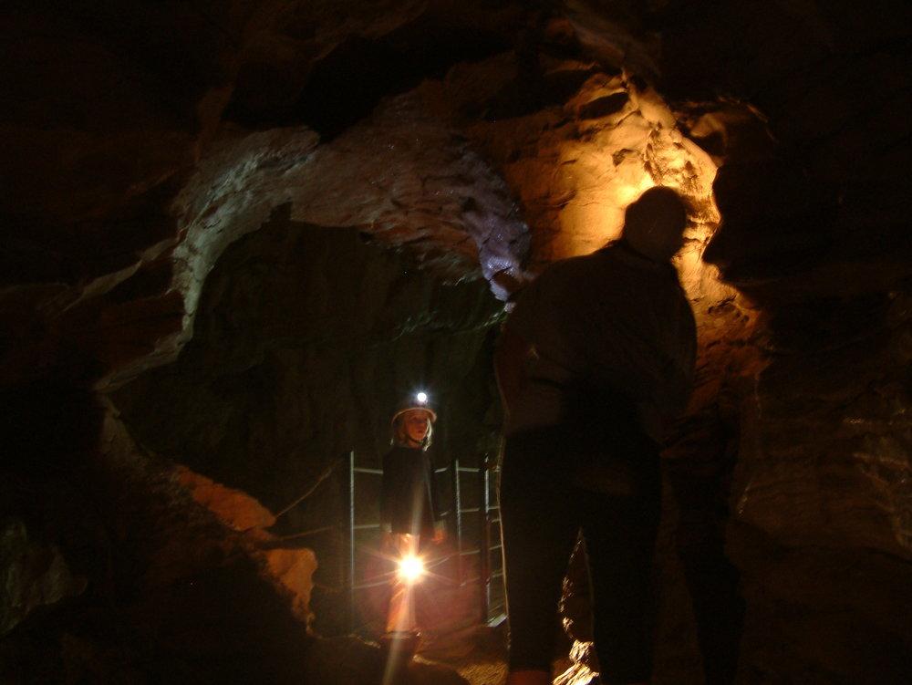 Te Ana o te Atua in the Mangawhitikau Cave system