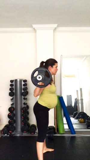 Fit pregnancy back squats stephcuesta