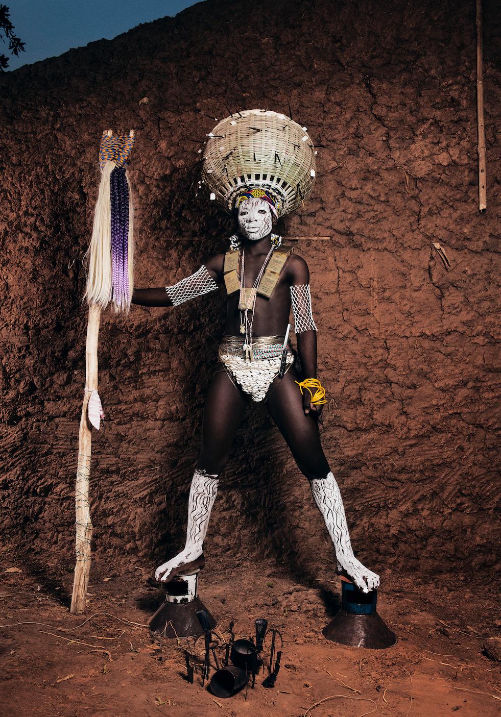 Namsa Leuba, serie Weke, Ogun, 2017.