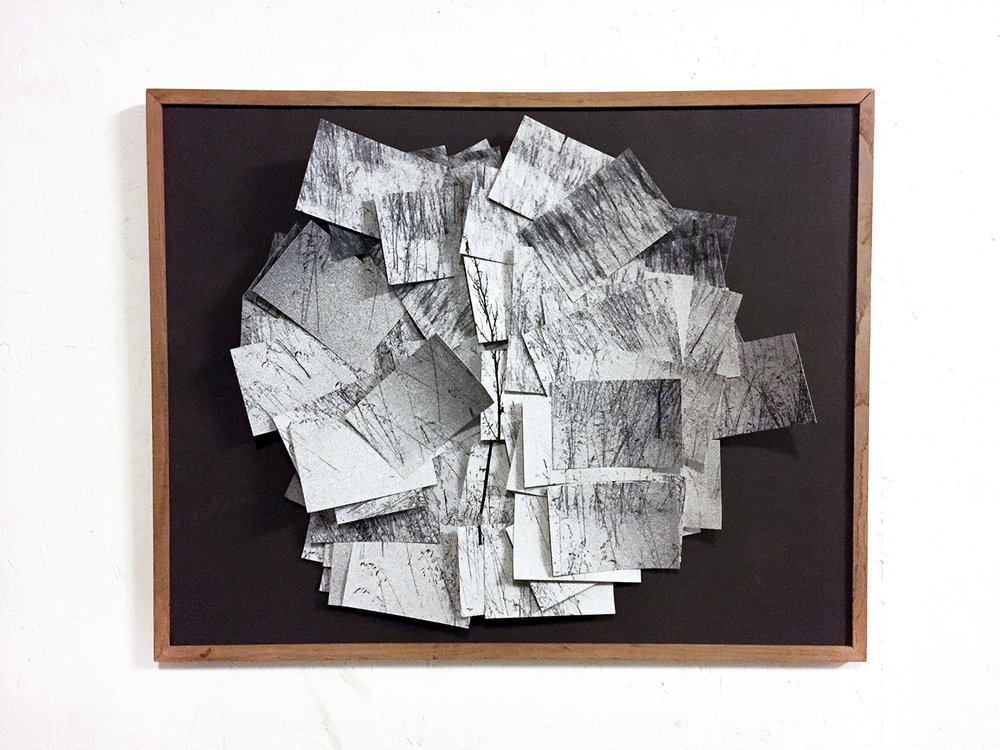 Lior Gal,  The Inability to Remember is Itself Perhaps a Memory , 2018. Tirage argentique, collage, 58cm x 73cm.