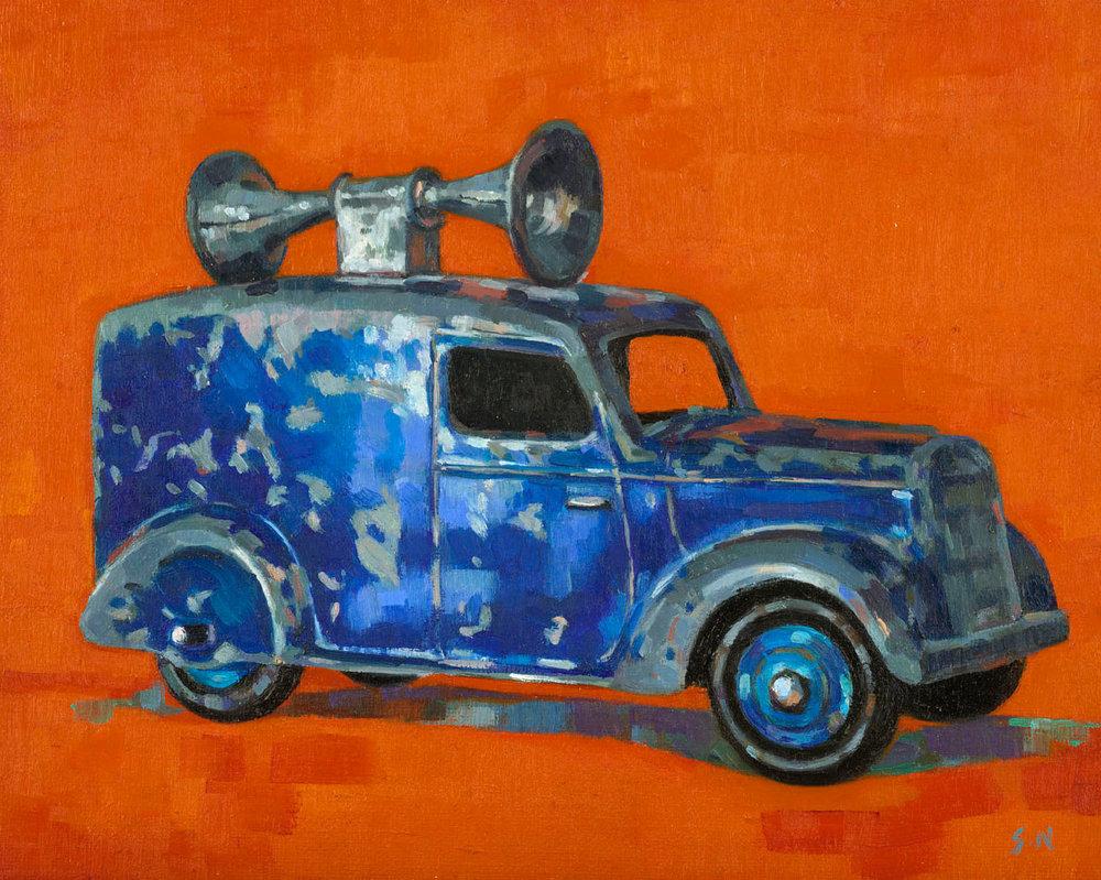 Dinky Loudspeaker Van