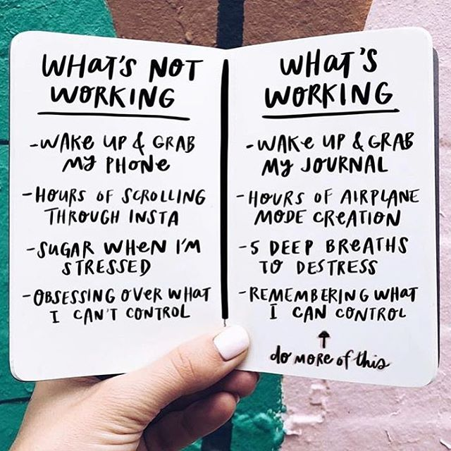 Love this @heyamberrae What would be on your two lists? As #the100dayproject has come to an end, I've been reflecting on what went well and what didn't work for me and why. Podcast episode breaking it all down coming soon!
