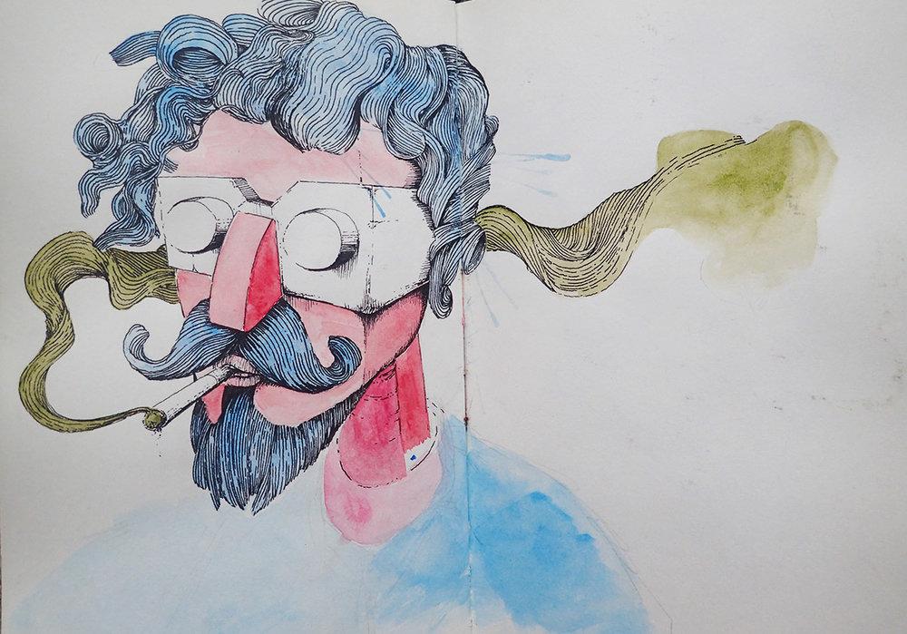 Smoking blue beard.jpg