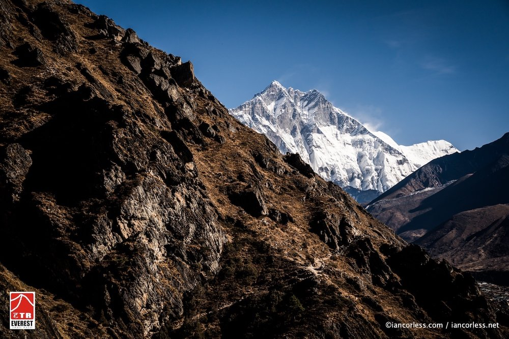 Favourite section of Trail in the entire Race. Running between Namche & Sanasa