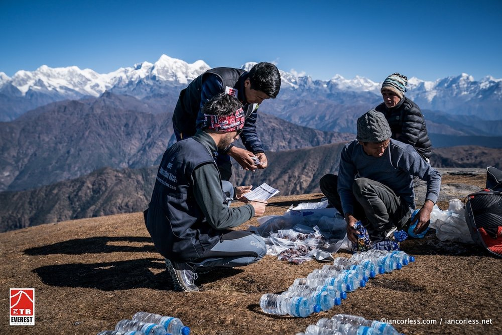 The heroes of the Race. The Sherpas and Doctors waiting out at remote checkpoints for hours!
