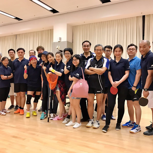 Ping-Pong Internal Friendly Game  30 Aug 2017