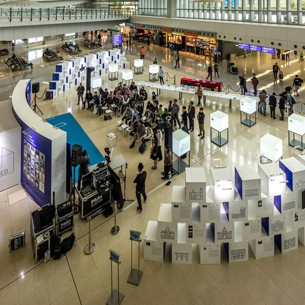 """Guided Tour in the """"My 10 Most """"Liked"""" Exhibition at the Airport"""" 09 Apr 2016"""