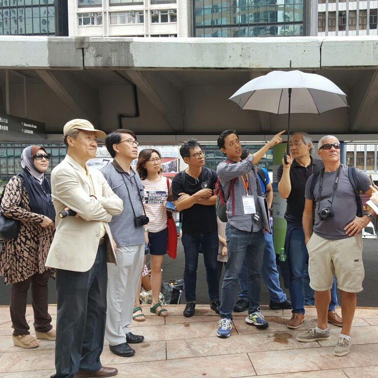 """Central Archi-walk: """"Appreciating Historic Buildings in the Central District"""" 01 Oct 2016"""