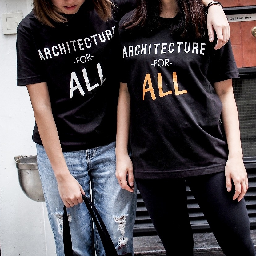 """Architecture for ALL"" T-Shirt   HK$150.00"