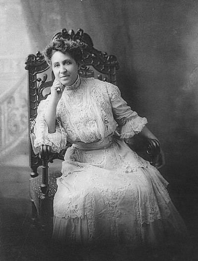Mary Church Terrell. Courtesy of the Library of Congress, LC-USZ62-5472297500102 Biog. File, Terrell, Mary, Church.