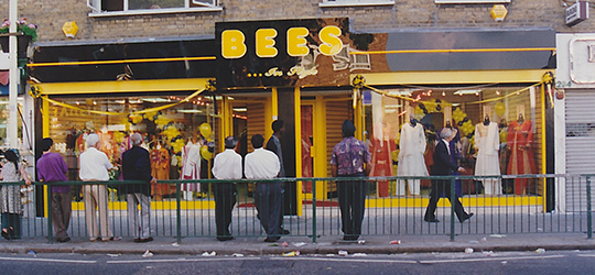 The original shop front - when we used to sell clothes too!