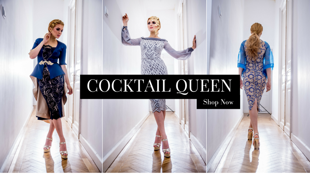 Luxury Cocktail Dresses Fashion by Laina