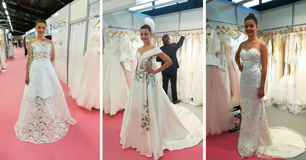 Rêve de fleur 2018 Bridal Collection -  Harrogate Bridal Show 2017
