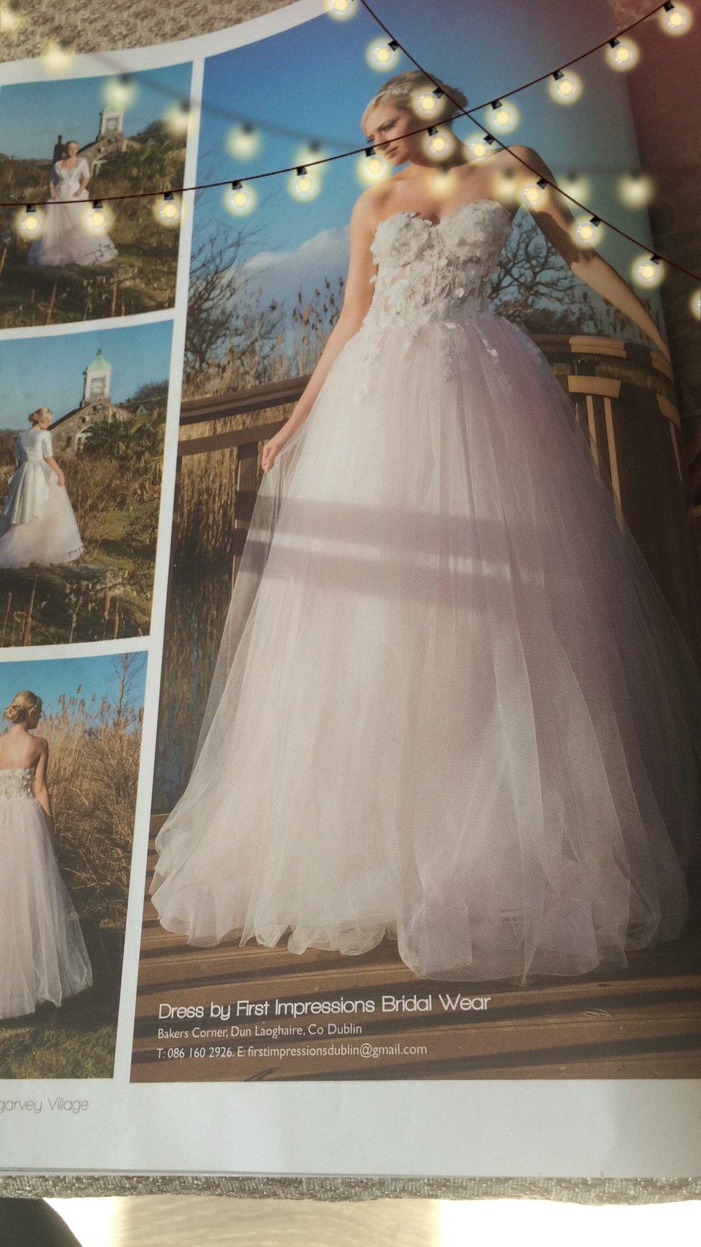 Elléboré wedding dress