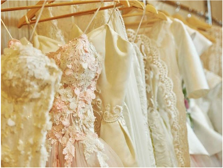 Featured: details of Fashion by Laina wedding dresses
