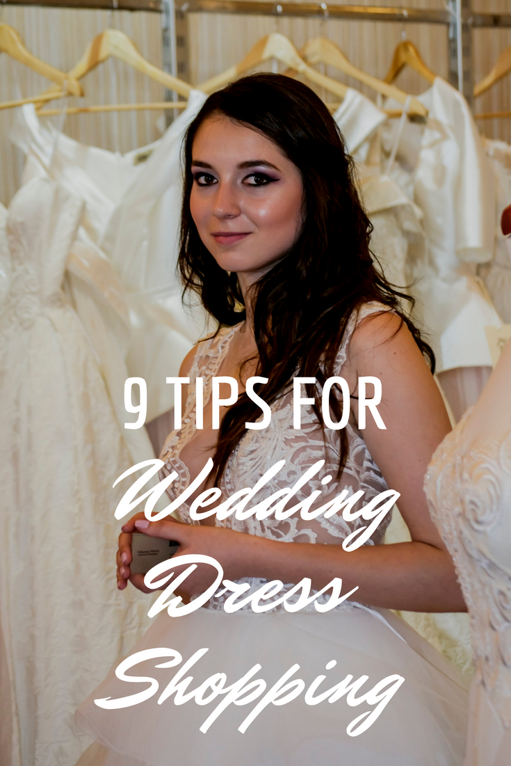 9 Tips for Brides Shopping Wedding Dresses - Read more at www.fashionbylaina.com/blog