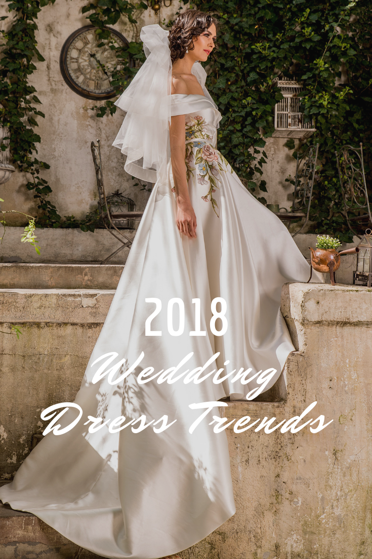 5 Wedding Dress Trends to Swoon Over in 2018 — Fashion by Laina