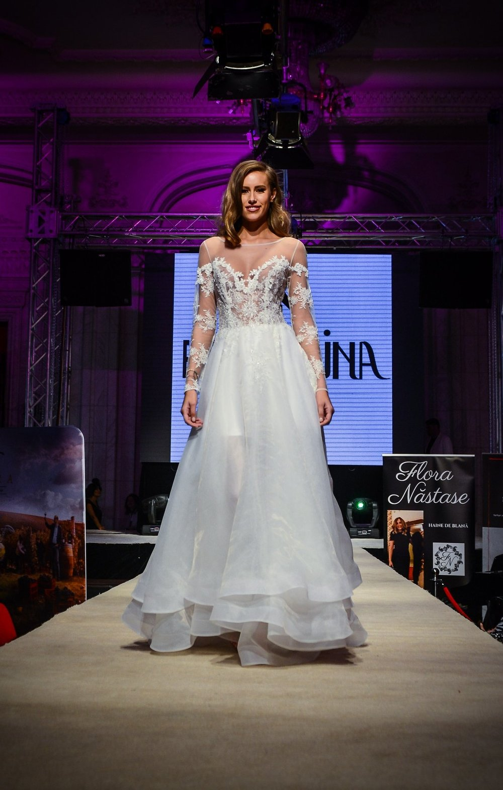 Featured: Ana, off shoulder A-line wedding dress crafted in lace and organza. Book your appointment  here  and come see if Ana is the ONE dress for you.