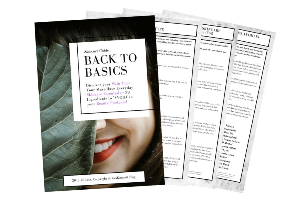 Grab The BACK TO BASICS: Skincare Guide for FREE!!! - GRAB THE GUIDE FOR FREE!!!You'll get it delivered to your inbox as soon as you join the List!