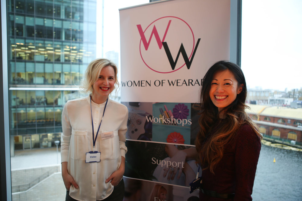 Marija with Women of Wearables co-founder, Michelle Hua
