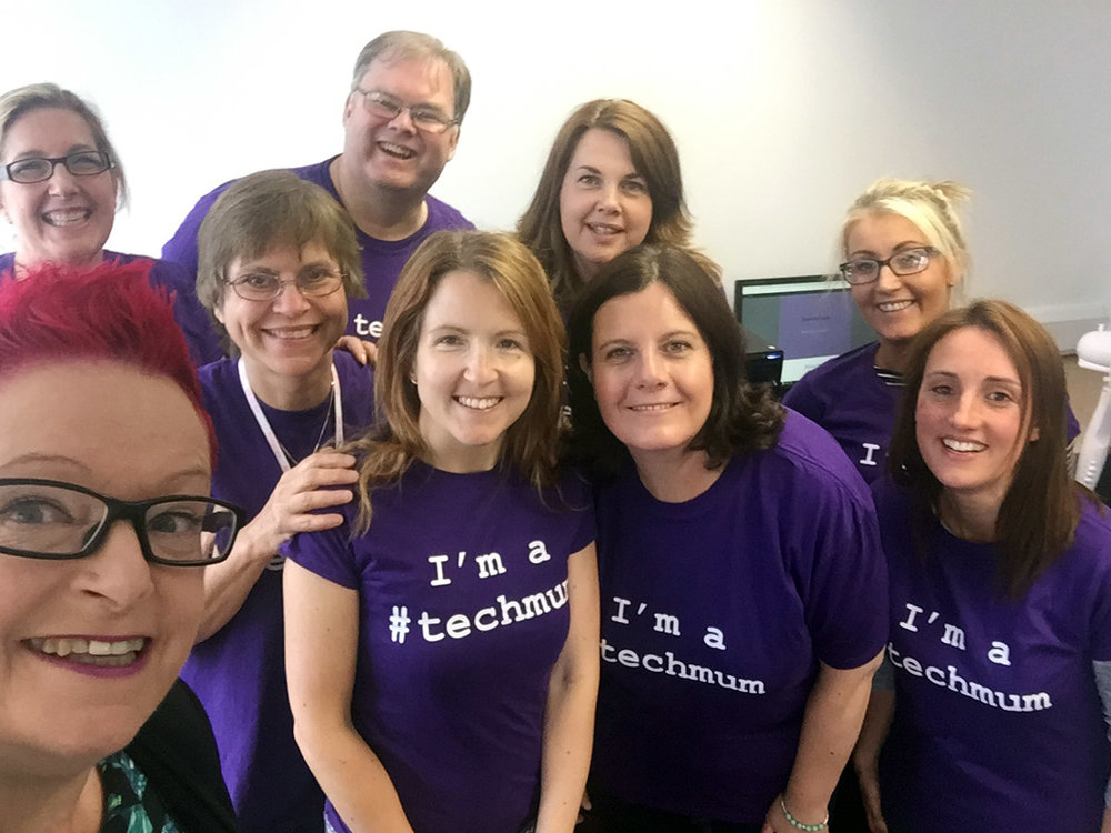 Dr Sue Black OBE and #techmum team (http://techmums.co/)