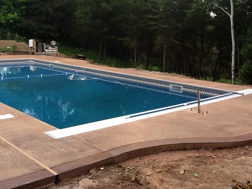 CONCRETE POOL DECKS -