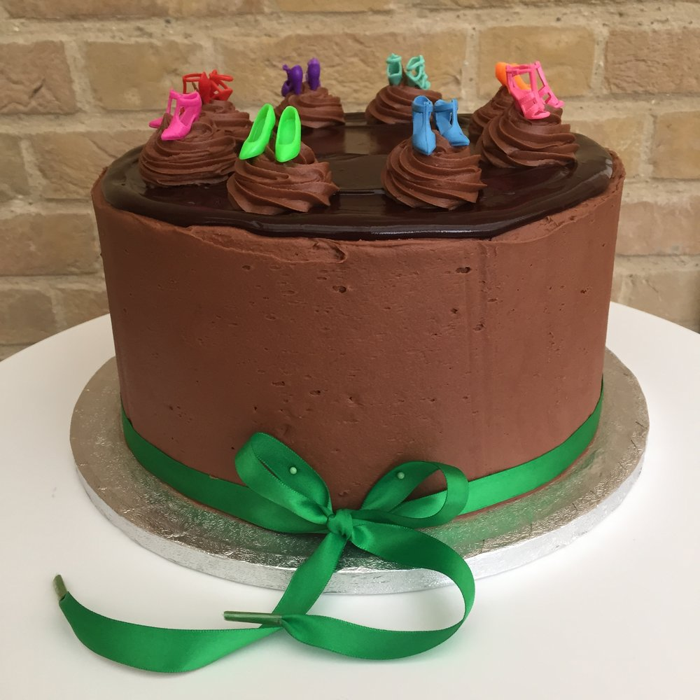 Shoe cake cake Norfolk