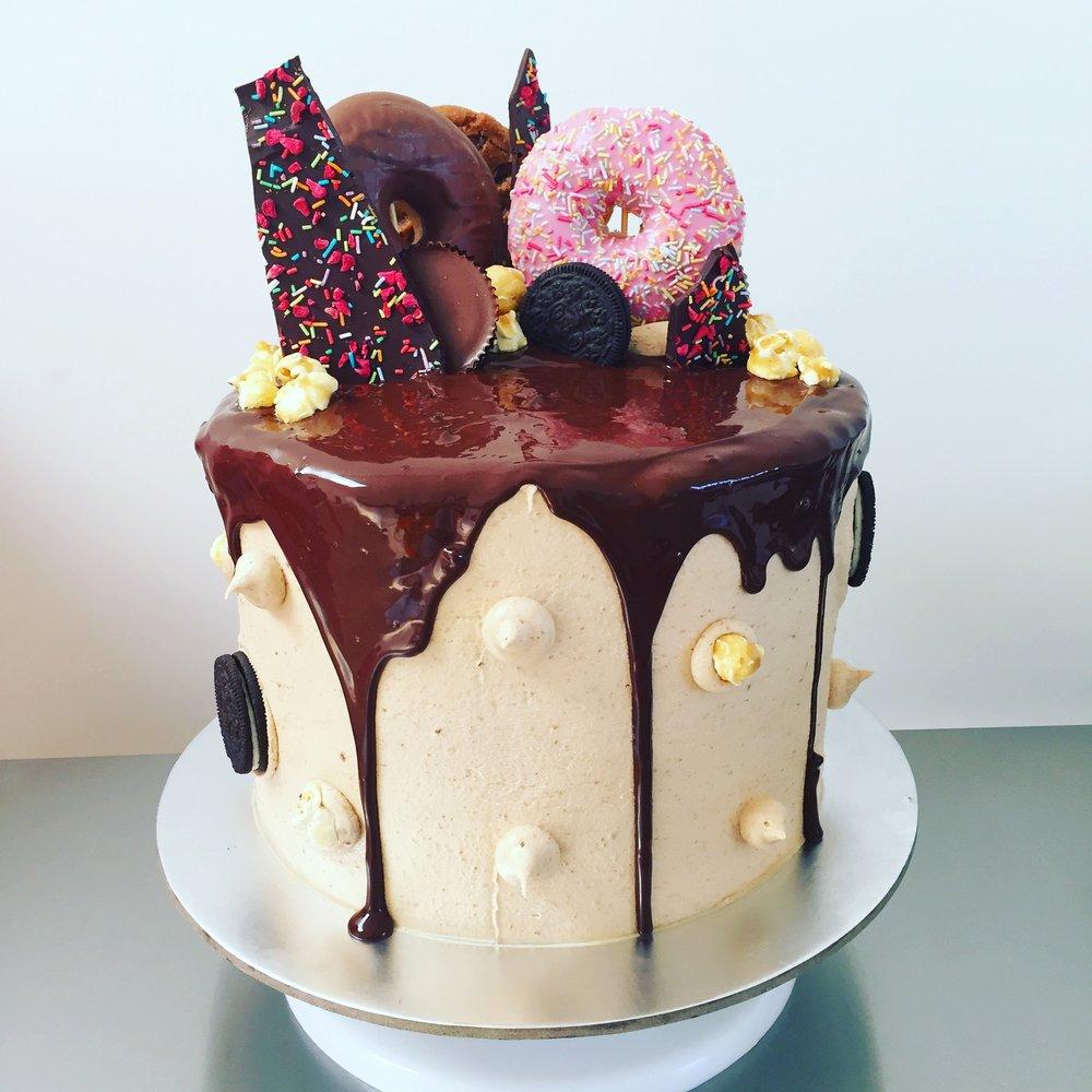 Bespoke birthday drip cake norfolk