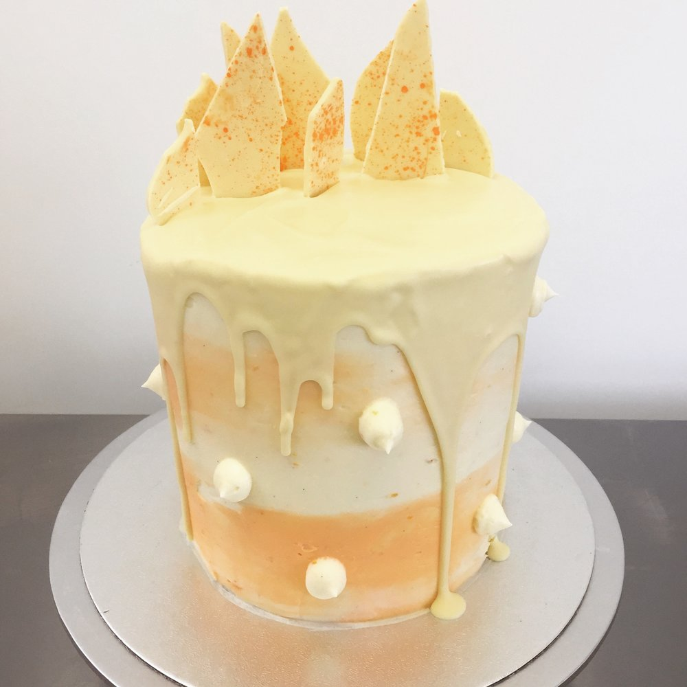 Carrot cake drip cake in Norfolk