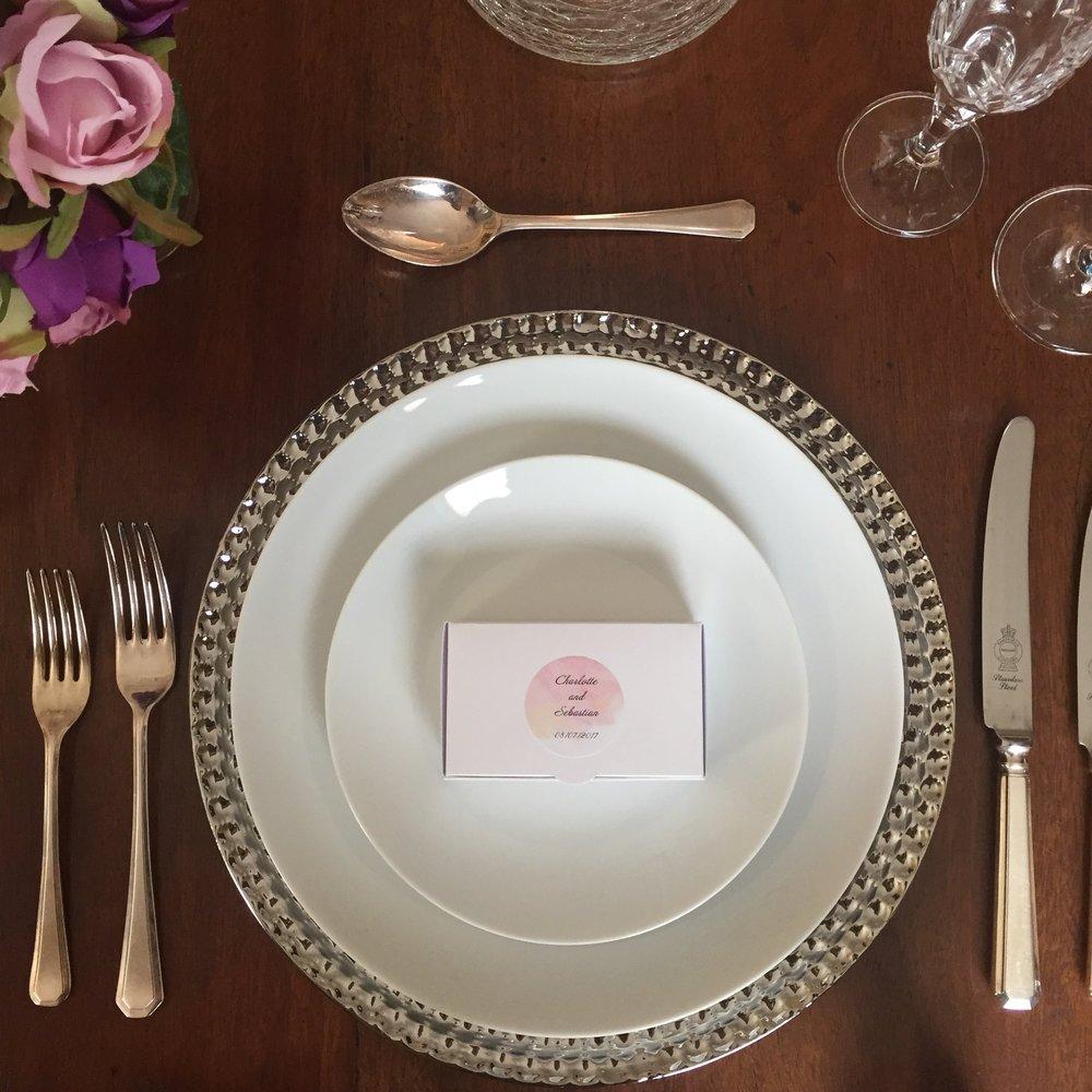 Norfolk handmade wedding favours