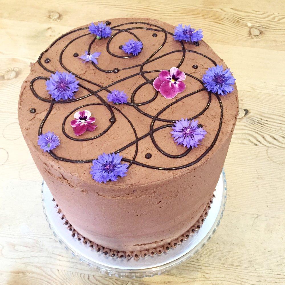 Birthday cake in norfolk
