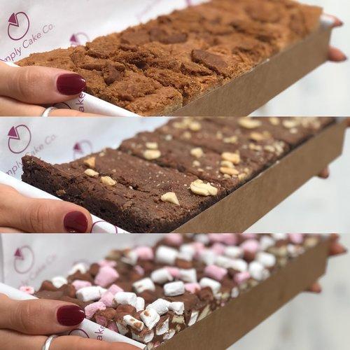 Order Online Order Delicious Artisan Brownies Online Simply Cake Co