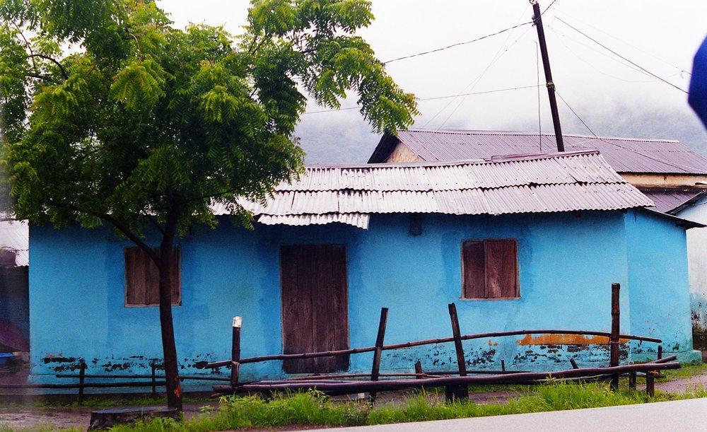 - Blue House, Guinea. 2005