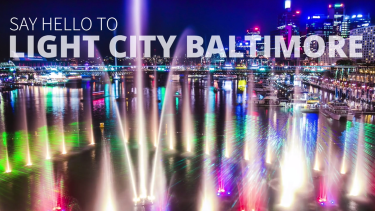 Annual festival of Light Art, Music, Innovation. Baltimore, April 2018.